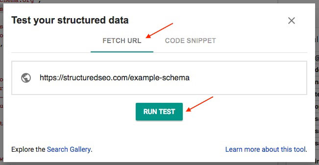 Check Web Page For Schema Errors