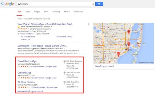 Example Google Maps.