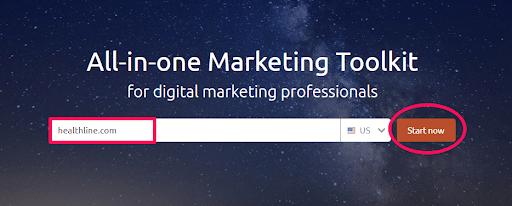 Semrush all-in-one Marketing Toolkit.